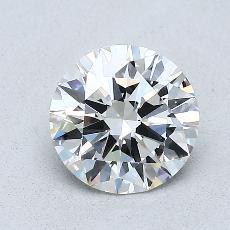 1.00-Carat Round Diamond Ideal G VS2