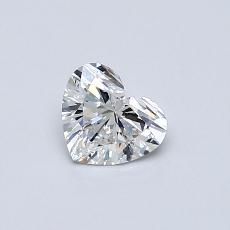 0,40-Carat Heart Diamond Very Good E IF