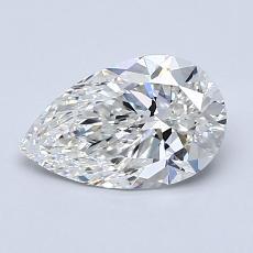 推薦鑽石 #4: 1.04 克拉梨形鑽石