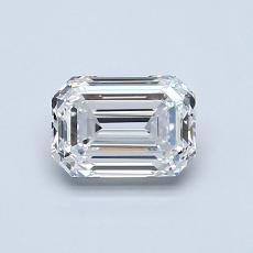 Recommended Stone #2: 0.81-Carat Emerald Cut Diamond