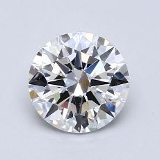 1.20 Carat 圆形 Diamond 理想 E VS1