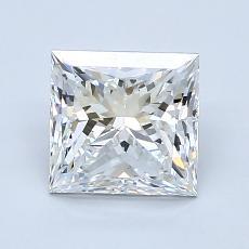 Pierre recommandée n°4: Diamant taille princesse 1,63 carat