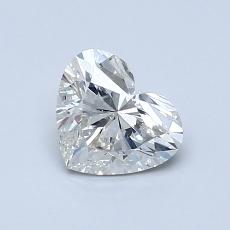 Recommended Stone #1: 0.80-Carat Heart Cut Diamond