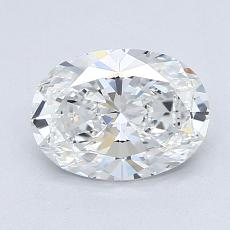 Recommended Stone #4: 1,34-Carat Oval Cut