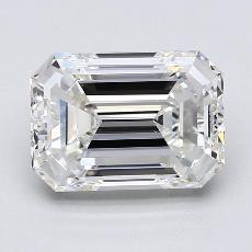 2,30-Carat Emerald Diamond Very Good G VS1
