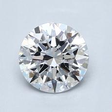 推荐宝石 2:1.05 克拉圆形切割