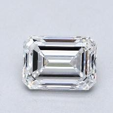 Recommended Stone #1: 1.01-Carat Emerald Cut Diamond