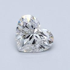 Recommended Stone #4: 0.72-Carat Heart Cut Diamond