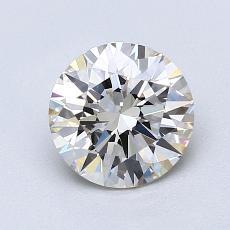 1.21 Carat 圆形 Diamond 理想 J VS1