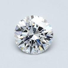 Recommended Stone #2: 0,70-Carat Round Cut Diamond