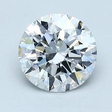 1,50 Carat Rond Diamond Idéale D VS2