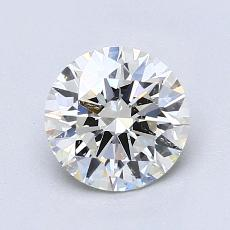 推荐宝石 2:1.18 克拉圆形切割