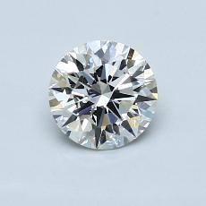 推荐宝石 4:0.73克拉圆形切割钻石