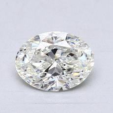 1,01-Carat Oval Diamond Very Good I VVS1
