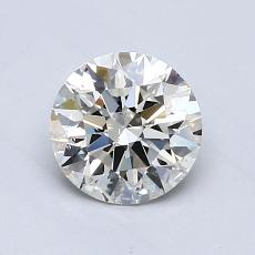 0.70 Carat Redondo Diamond Ideal K SI2