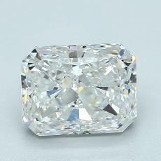 Recommended Stone #3: 2.50-Carat Radiant Cut