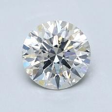 1.00 Carat 圆形 Diamond 理想 H SI2