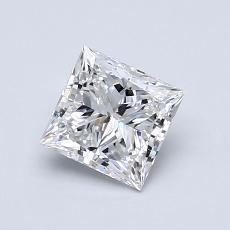 0,80 Carat Princesse Diamond Très bonne E VS1