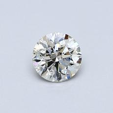 推薦鑽石 #4: 0.42  克拉圓形切割