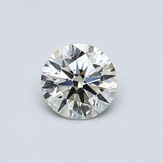 Recommended Stone #2: 0.50-Carat Round Cut