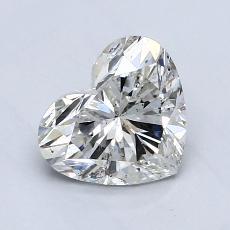 1.03 Carat 心形 Diamond 非常好 I SI2