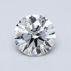 1.00 Carat Redondo Diamond Ideal D VS1