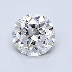 1.00-Carat Round Diamond Good E VVS2