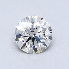 0.77-Carat Round Diamond Ideal G VS1