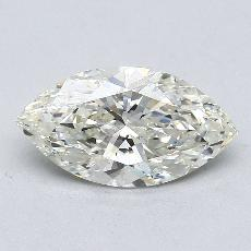 1.50-Carat Marquise Diamond Very Good K SI2