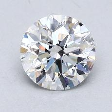 1.20-Carat Round Diamond Ideal E VVS1