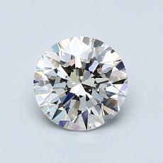 1,00-Carat Round Diamond Ideal G VVS2