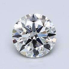 1.31 Carat Redondo Diamond Ideal I VS1