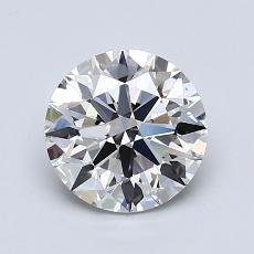 1,31 Carat Rond Diamond Idéale I VS1