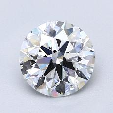 1,50-Carat Round Diamond Ideal E VS1