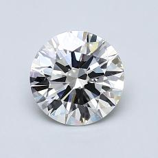 0.99 Carat Redondo Diamond Ideal G VS1