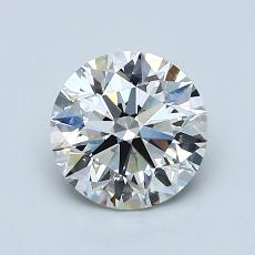1.20 Carat Redondo Diamond Ideal H VVS2