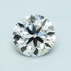 Recommended Stone #1: 1,00-Carat Round Cut Diamond