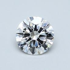 Target Stone: 0,70-Carat Round Cut Diamond