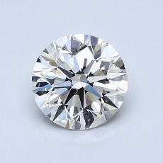 1.01-Carat Round Diamond Ideal I VVS2