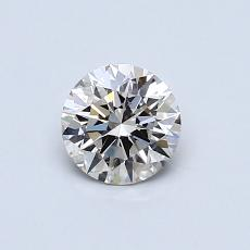 0.51 Carat Redondo Diamond Ideal J SI1