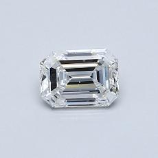 Target Stone: 0.51-Carat Emerald Cut Diamond