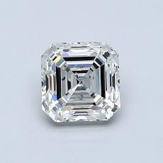 Recommended Stone #4: 0.90-Carat Asscher Cut Diamond