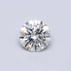 0,70 Carat Rond Diamond Idéale F VS1