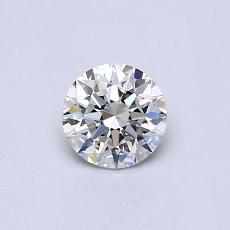 0.40 Carat 圓形 Diamond 理想 H VVS2