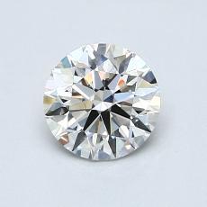 0.80 Carat 圓形 Diamond 理想 G VS1