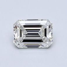 Recommended Stone #4: 0.79-Carat Emerald Cut Diamond