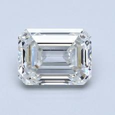 Pierre recommandée n°2: Diamant taille émeraude 1,27 carat