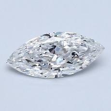 1.00-Carat Marquise Diamond Very Good E SI2