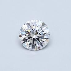 当前宝石:0.38 克拉圆形切割