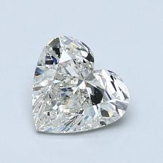 Recommended Stone #3: 1.00-Carat Heart Cut Diamond